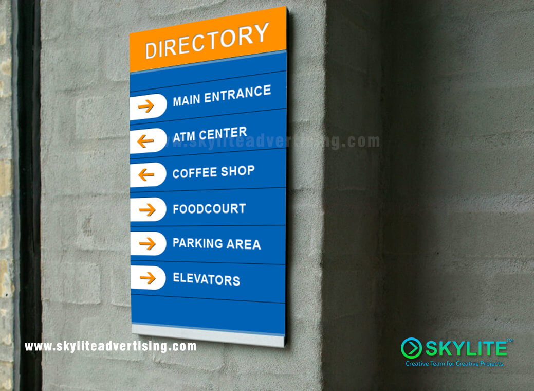 Directiona Sign Maker And Fabricator Philippines