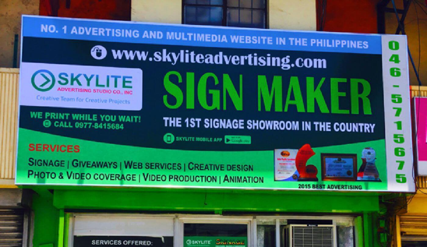 Panaflex Sign Maker And Fabricator Philippines